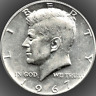 1967 Kennedy Half Dollar 40% SILVER US Mint Coin