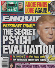 Donald Trump National Enquirer Magazine Angelina Jolie Ellen DeGeneres Cher