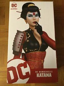 DC Collectibles DC Bombshells Katana Statue by Jack Mathews # Limited Edition