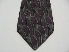 Stafford - Violet Cachemire - Vintage - Fabriqué aux États Unis - 100% Cravate