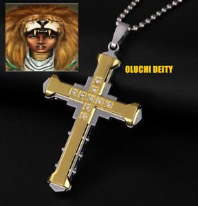 OLUCHI African DEITY Talisman Intense Power-Cleanse & Force Abundance Protection