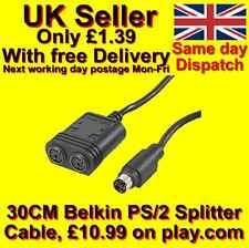 Belkin PS2 PS / 2 Tastiera / Mouse SPLITTER CAVO 30CM (Belkin PRO Series)
