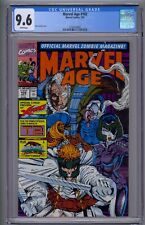 MARVEL AGE #102 CGC 9.6 ROB LIEFELD COVER X-FORCE HIGHEST GRADED COPY