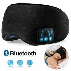 Wireless Bluetooth 5.0 Stereo Eye Mask Headphones Earphone Sleep Music Headset