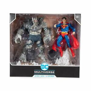 McFarlane DC Superman & Devastator Death Metal Figure 2-Pack New, UK & MISB
