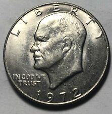 United States 1972 Eisenhower Large One Dollar Coin