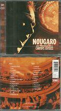 RARE / CLAUDE NOUGARO : Le meilleur de NOUGARO EN CONCERT ( 2 CD )/ NEUF EMBALLE