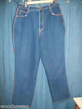 Gitano Jeans Regular Size 20 Slightly Used Rn 44976 Dark Wash Cotton Poly mix