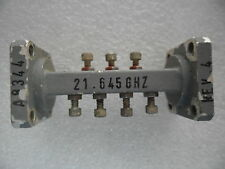 Ghz Microwave Rf Waveguide Filter Wr42 Wr42 21645ghz A8344 2910036 Xx