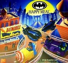 1992 McDonalds Batman MIP Set - Lot of 4, Boys & Girls, 3+