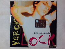 VERONICA LOCK Senza una parola cd singolo PR0M0 RARISSIMO