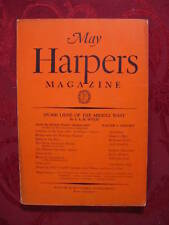 HARPER's May 1928 I A R WYLIE CONRAD AIKEN MADOX FORD ALBERT JAY NOCK CYRIL HUME