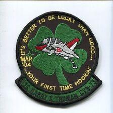 T-45 GOSHAWK PILOT 04 CARQUAL CVN-75 USS TRUMAN US Navy Training Squadron Patch