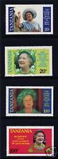 Tanzania 1985 Life & Times Queen Mother SG425/8 MNH