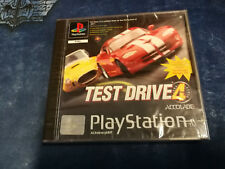 Videogame TEST DRIVE 4 Playstation 1 PS1 PSX PS1 PSONE NEW & SEALED 1st print