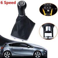 6 Velocidades Marchas Pomo Palanca Cambios Funda For Opel Astra Corsa 05-10 Boot