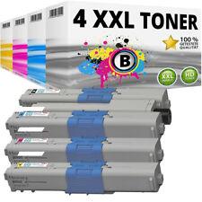 Set 4x XXL Toner für OKI C332 MC363 C332DN MC363DN kompatibel Patronen