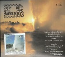 New Zealand Block40 mint never hinged mnh 1993 Stamp Exhibition