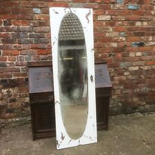 Vintage Mirrors Shabby Chic French Doors Wall Mountable Tarnished Distressed Old