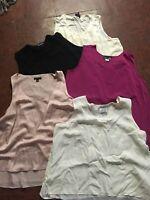 5 women's 2X Camisole Lot summer tank top sleeveless layering shirt wardrobe add