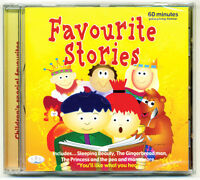 Favourite Stories CD Kids Fairy Tales for Children  NEW- DIRECT FROM PUBLISHER