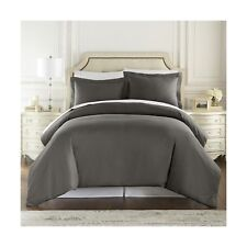 1500 Thread Count Duvet Cover Set, 3pc Luxury Soft, All Sizes & Colors, King-.