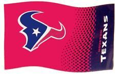 Forever Collectibles Houston Texans Fade Drapeau DRAPEAU FANION NFL