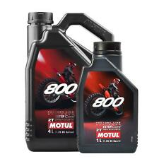 Motul 800 2T Factory Line Off Road 2 Stroke Motorcycle Engine Oil - 5 Litre