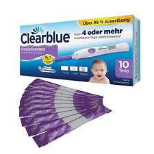 Clearblue Digital 10 Stück Ovulationstest mit dualer Hormonanzeige Nachfüllpack
