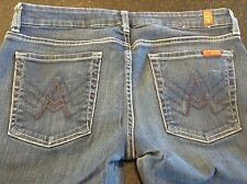"7 FOR ALL MANKIND ~ ""A"" POCKET BOOTCUT ~ Tag 32 - Actual 31x29 - GOOD CONDITION!"
