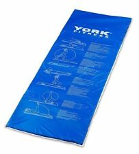 York Vinyl Exercise Mat - 1700 x 600 x 18mm