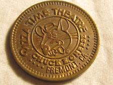 Rare 1981 Fremont CA Chuck E Cheese PizzaTime City TOKEN COIN