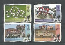 ascension ca 2007 scout scoutisme scouting baden powell turtle cars 4v mnh **
