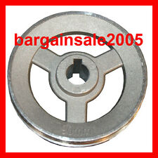 Pulley Aluminium 90mm for motor (fit 40K Geared Motor from our store)