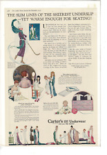 NOV 1919 LADIES' HOME JOURNAL CARTER'S KNIT UNDERWEAR ALL FAMILY AD PRINT G599