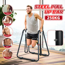 Dip Station Pull Up Stand Chin-up Bar Upper Body Fitness Exercise Workout Home
