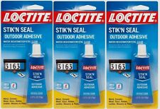 3 1oz Loctite Vinyl Fabric Plastic Flexible Clear Adhesive Leather Canvas Glue