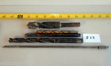 Lot of 5 Used & new Drill bit B64