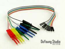 10pin Test Clip Duppont tester Kabel For Breadboard Arduino uno R3 MEGA 2560 DUE
