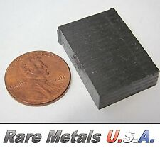 BERYLLIUM: 6 GRAMS! PURE 99.9% | ELEMENT SAMPLE .999 X-RAY BAR | RARE METALS USA