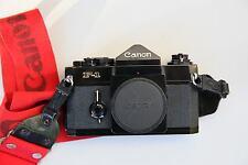 CANON F1 Gehäuse 1981, professionelle analoge Spiegelreflexkamera CANON F-1 Body