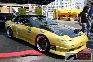 89-94 Fits Nissan 240SX DV Seibon Carbon Fiber Body Kit- Hood!!! HD8994NS240-DV