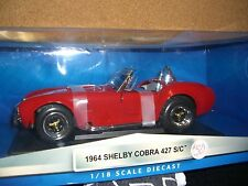 1/18 Yat Ming 1964 Shelby Cobra 427 S/C in red