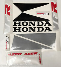 HONDA NC30 VFR400R RESTORATION DECAL SET 2