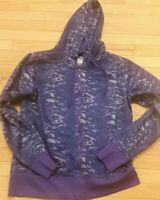 Women's Under Armour Fleece Storm Full Zip Large Purple Camo Women's Hoodie