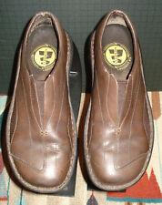Merrell Tetra Flex Dark Brown Leather Sport Loafer 36/6 US Excellent!