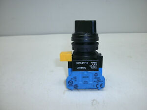 IDEC HW1S-2TF10 SELECTOR SWITCH 22MM 2 POSITION MAINTAINED ROUND BLACK