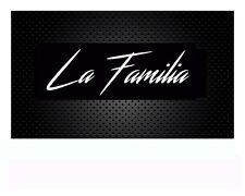 La Familia Aufkleber Familie  Autoaufkleber Sticker JDM OEM Tuning 19x 6cm