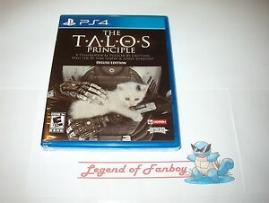 New * The TALOS Principle: Deluxe Edition - ps4  Sony PlayStation 4