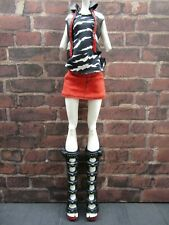 Monster High Meowlody Werecat Twins First Wave 1 Outfit Jacket Shoes Shirt Skirt